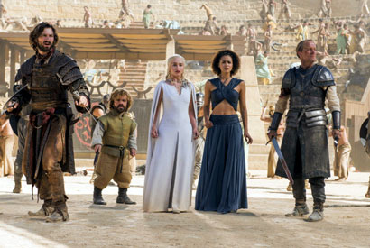 A colorful cast and complex story lines are among the allures of Game of Thrones. (Photo courtesy of HBO.)