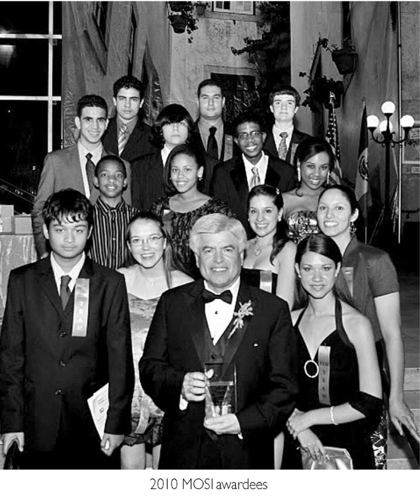 2010 MOSI Awardees