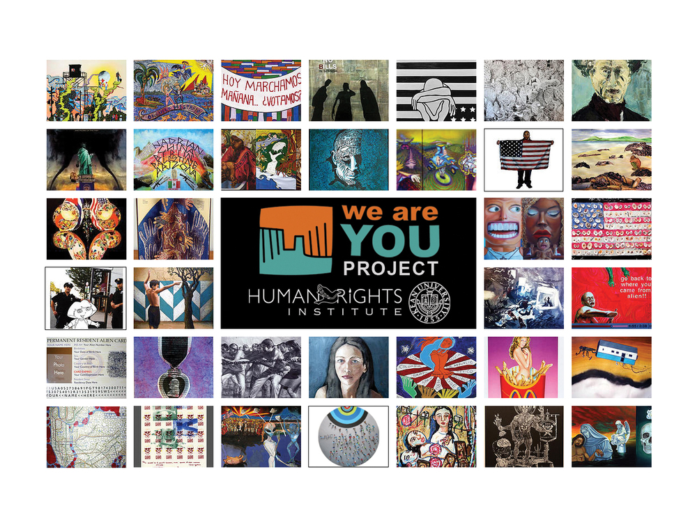 The Human Rights Institute at Kean University will host an opening reception with the artists of its newest exhibition,We Are You Project: An Exhibition on Social Justice & Immigration, on Tues., Sept. 15, at its Gallery, at 6 p.m. The exhibit, which will remain on display through Jan. 2016, is part of a series of campus events highlighting the issues of social justice and immigration. All events are free and open to the public.