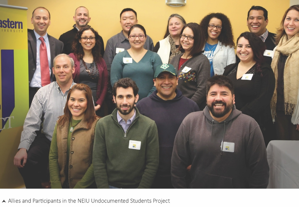 NIU hispanic outlook jobs higher education