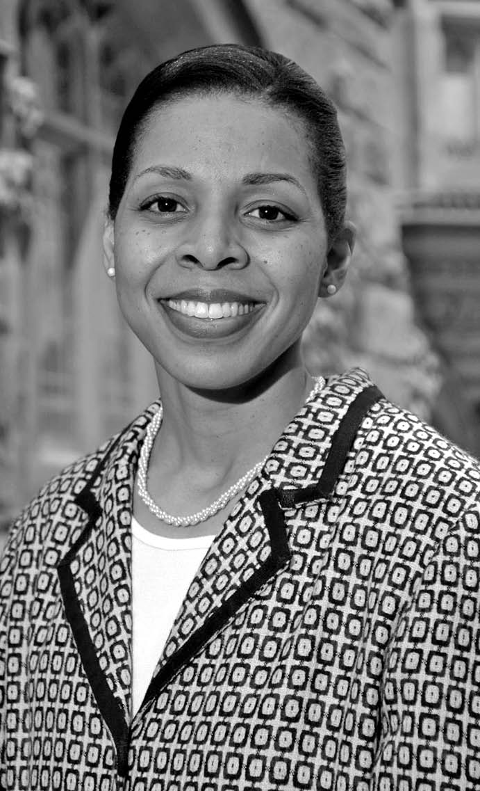 Dr. Karen Jackson-Weaver, a Princeton Alumna, Associate Dean for Academic Affairs and Diversity at the Graduate School's Office of Diversity