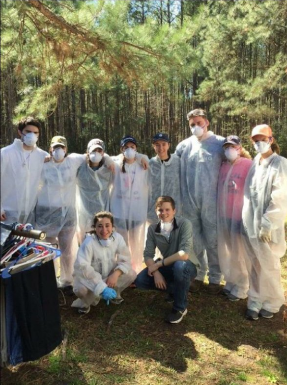 Saint Anselm's spring break alternative (SBA) Carolina group