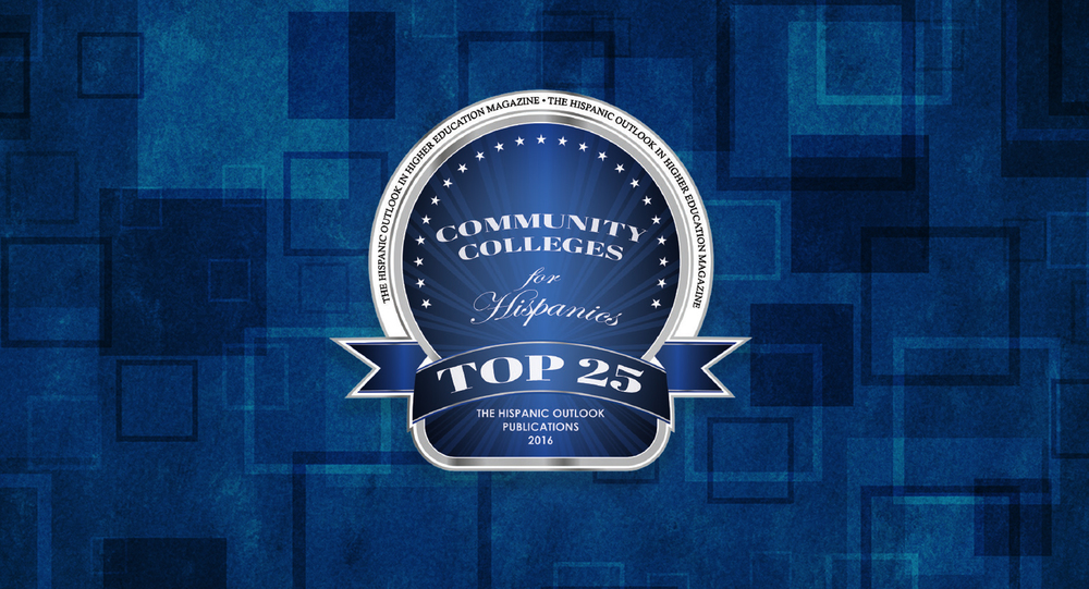 top 25 community college for hispanics