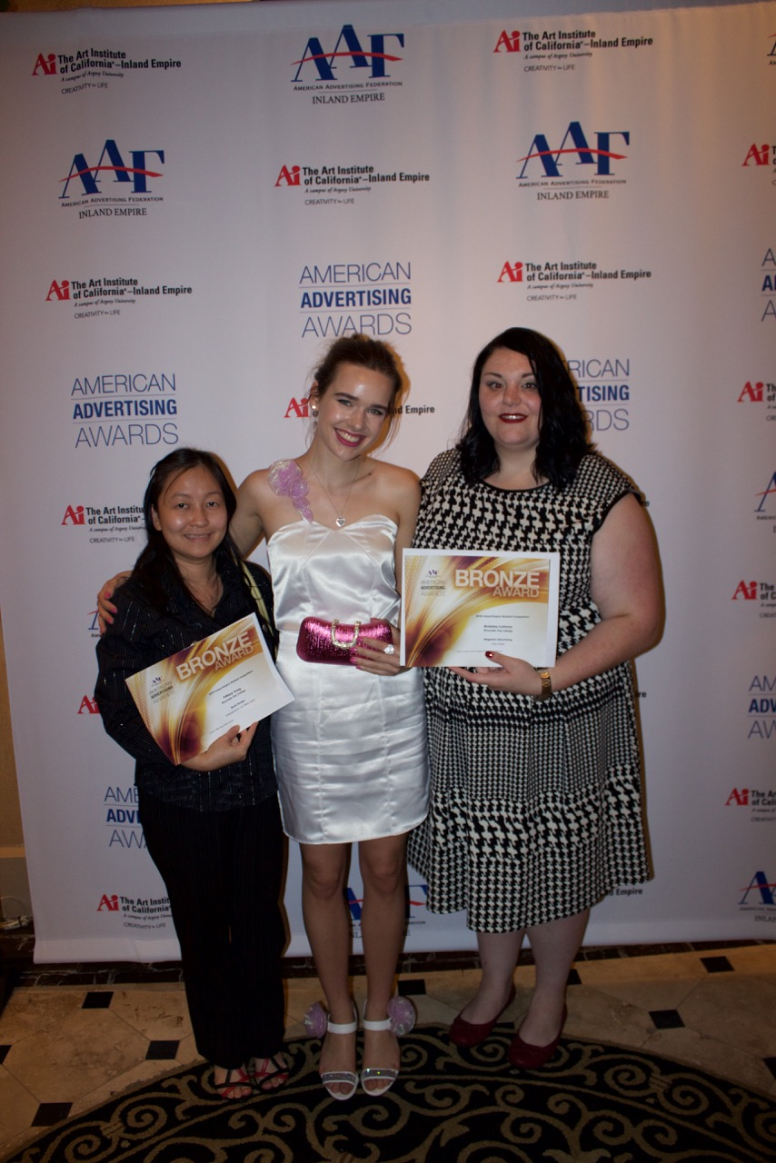 Photo of Tiffany Vang, Emily Riddell and Kristina LoVerso.
