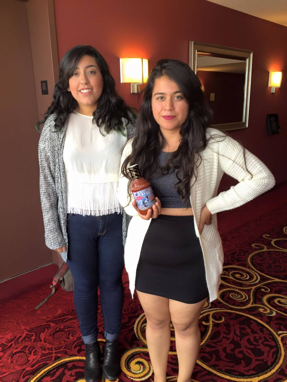 CSUF seniors Berenice Delgado and Gabriela Gonzalez are competing in the National Debate Tournament April 1-6 in New York.