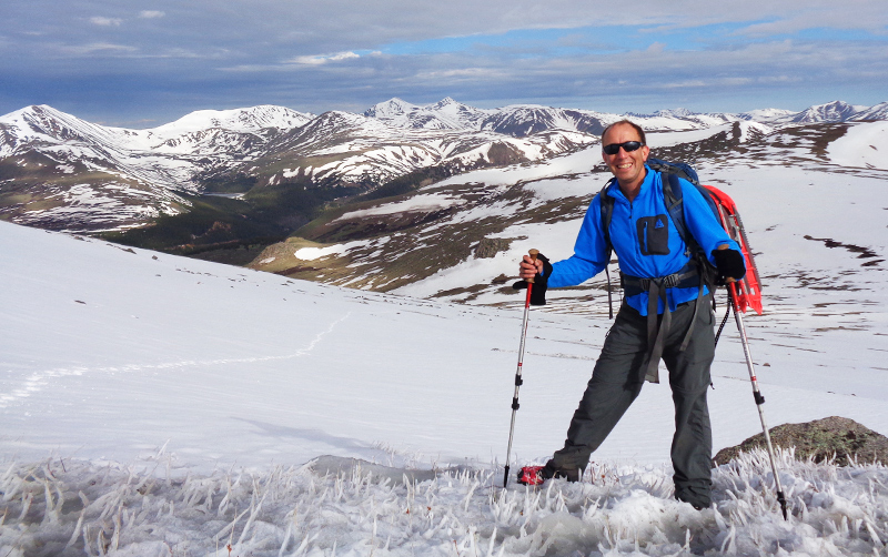 "Scott Annin's CSUF Outstanding Professor Lecture on ""Mountaintop Moments in Mathematics"" will focus on his passions of math and mountain hiking, including his treks in Colorado's Rocky Mountains."