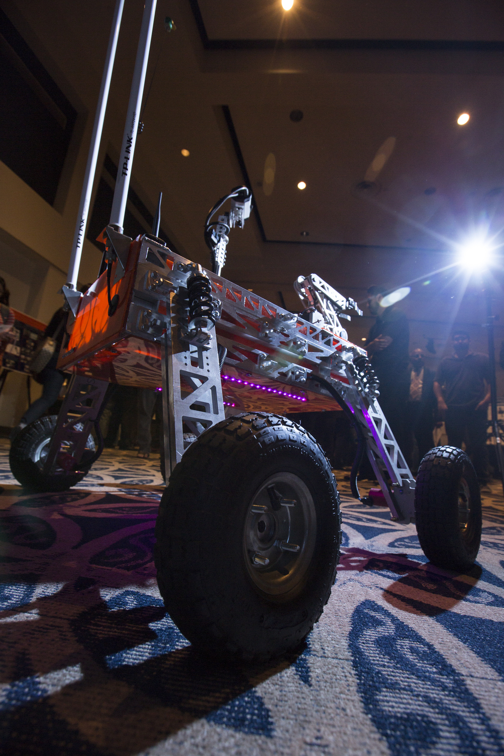 Cal State Fullerton's student-built Titan Rover is competing June 2-4 in the Utah desert.