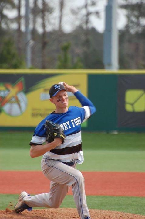 Kyle Roberts Pitching