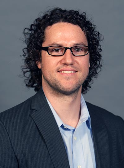 Brady Heiner, assistant professor of philosophy at Cal State Fullerton, is overseeing CSUF's launch of Project Rebound.