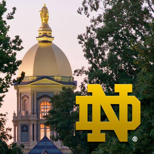 Photo Courtesy of Notre Dame's Facebook Page