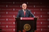 IU President Michael A. McRobbie delivers his 2016 State of the University address.