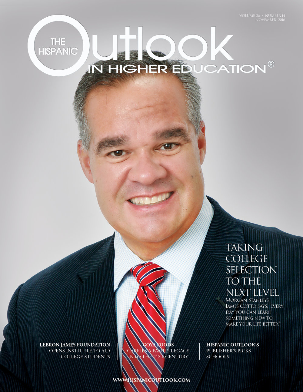 hispanic outlook magazine november 2016
