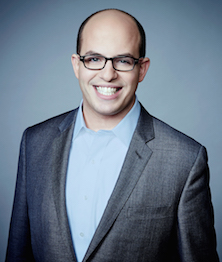 "CNN Senior Media Correspondent, and host of ""Reliable Sources"" Brian Stelter"