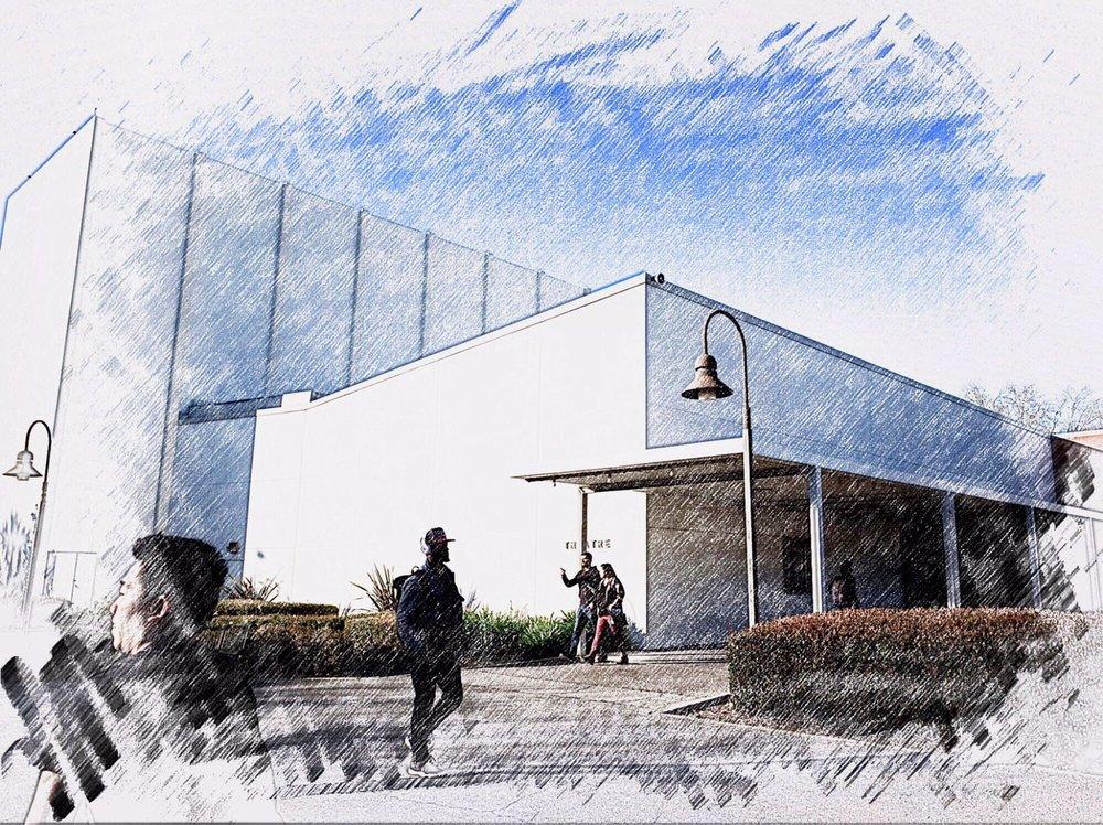 Photo illustration: State Playhouse. (Credit: J. Emilio Flores/Cal State LA)