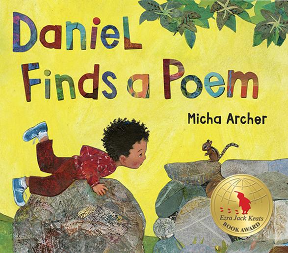 daniel finds a poem book