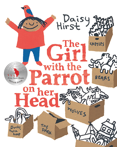 the girl with the parrot on her head book