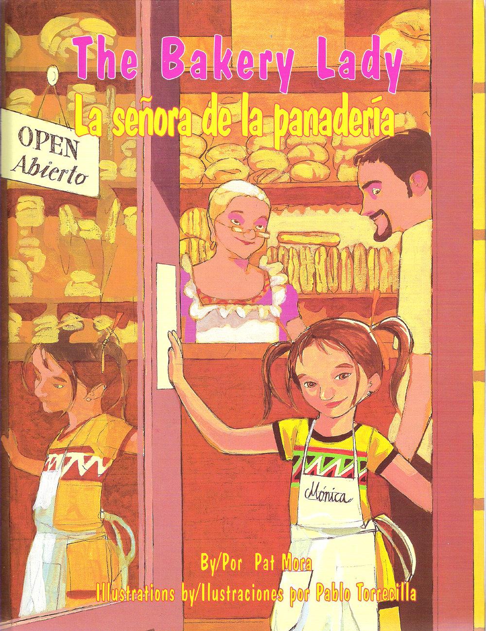 the bakery lady la señora de la panadería
