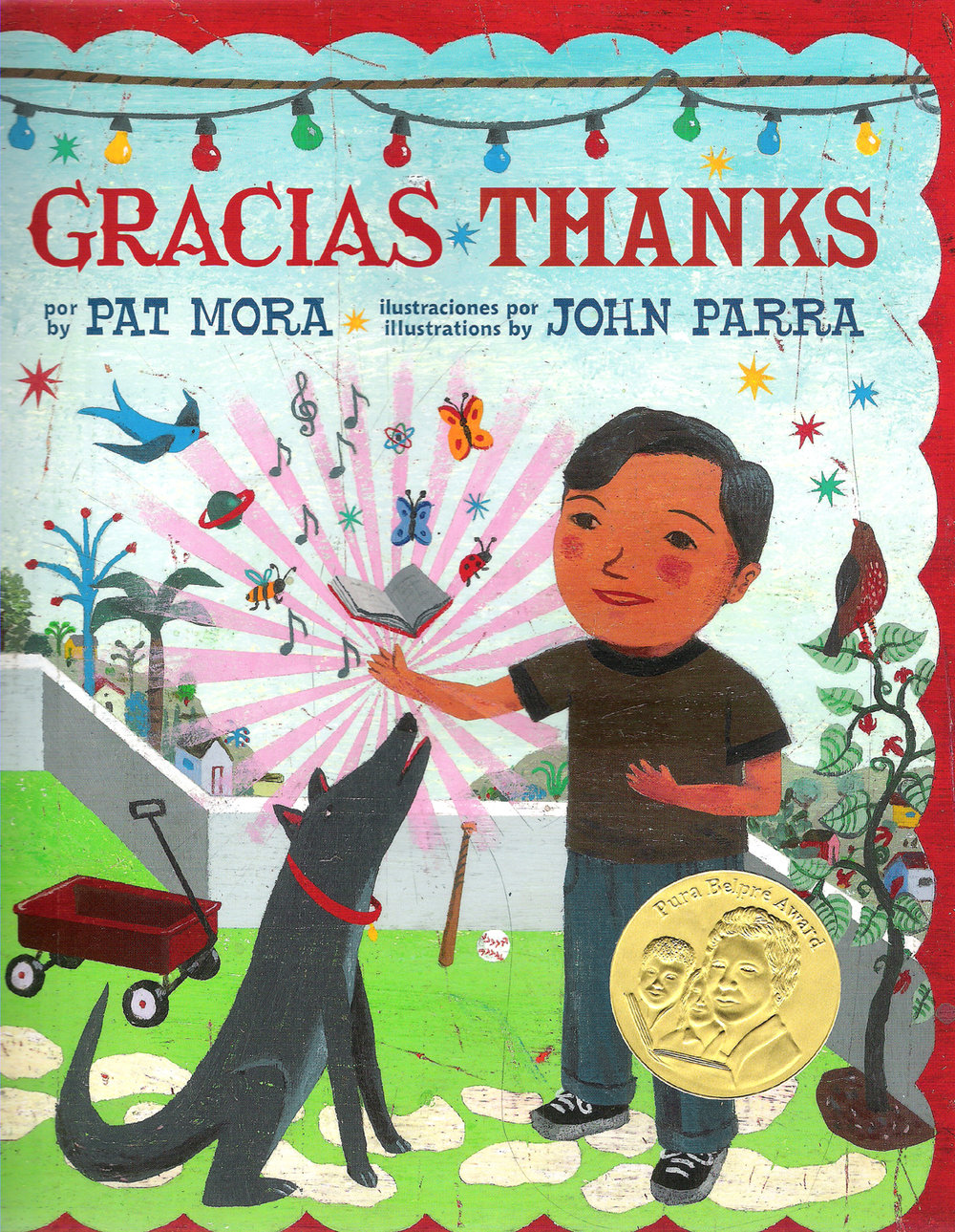 thanks gracias libro book