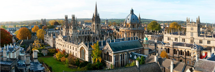 Photo Courtesy of the University of Oxford's Facebook Page