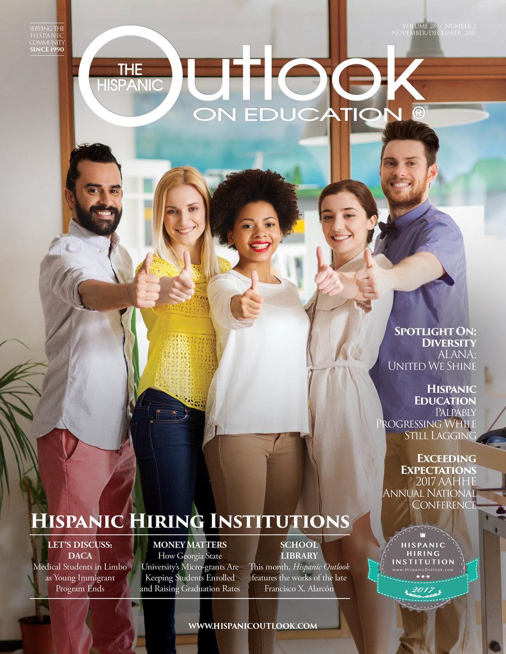 hispanic hiring institutions ISSUE 2017