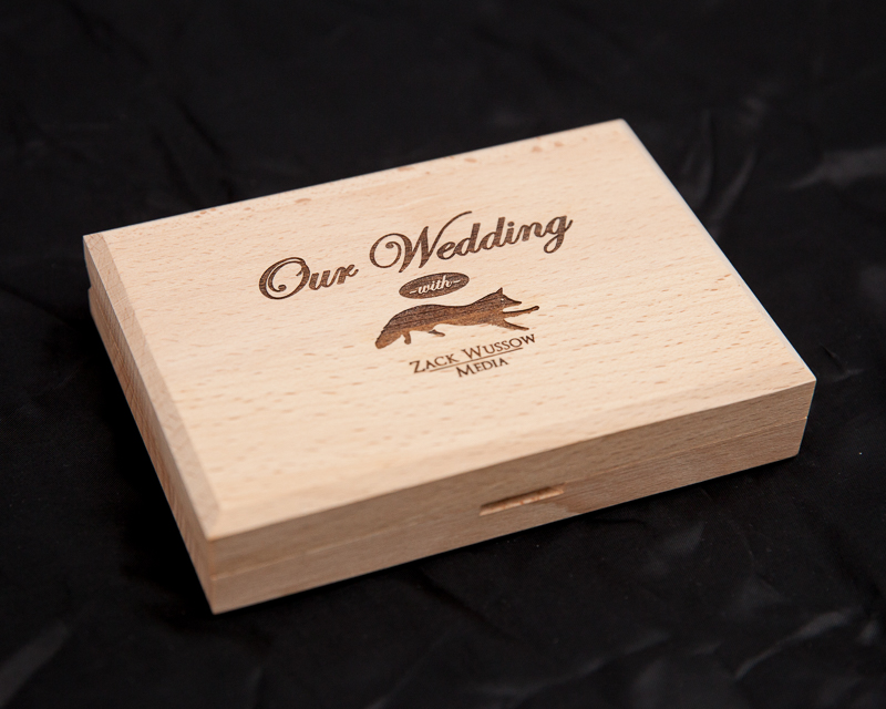 New Wooden Usb Boxes For Weddings Zack Wussow Media