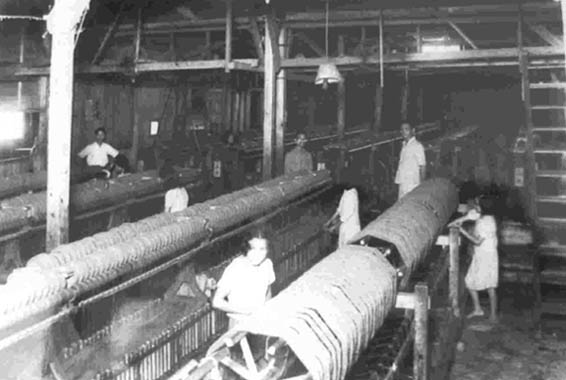 View of Formosa Textile Company in the 30's.
