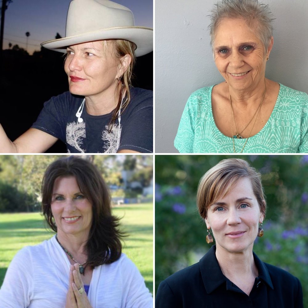 Pictured clockwise beginning at top left: Marnie Castor, Sandy MacNamara, Tracy Firsching and Vikki Taylor.