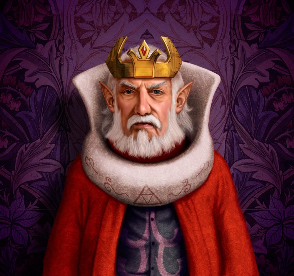 King Daphnes Nohansen Hyrule