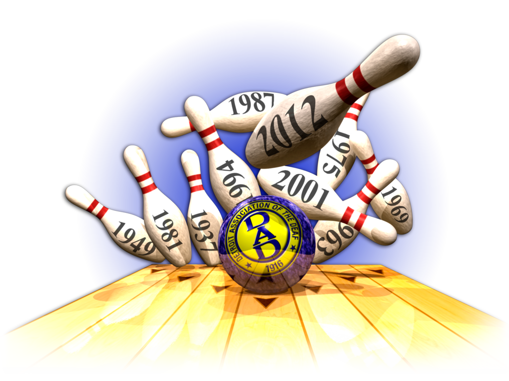 Deaf Bowling Event Brochure