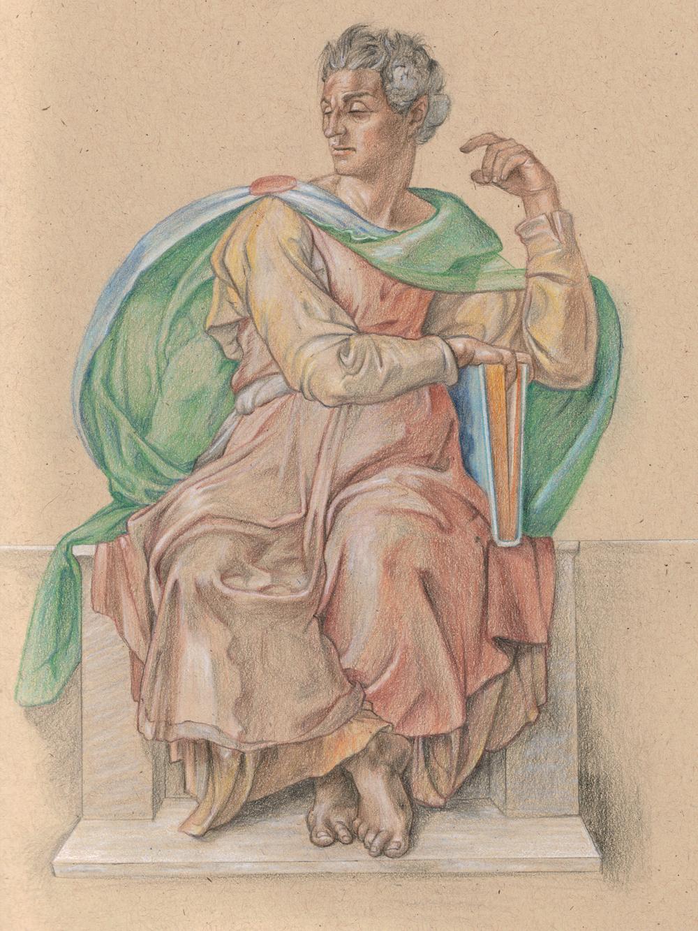 Michelangelo Study - Isaiah