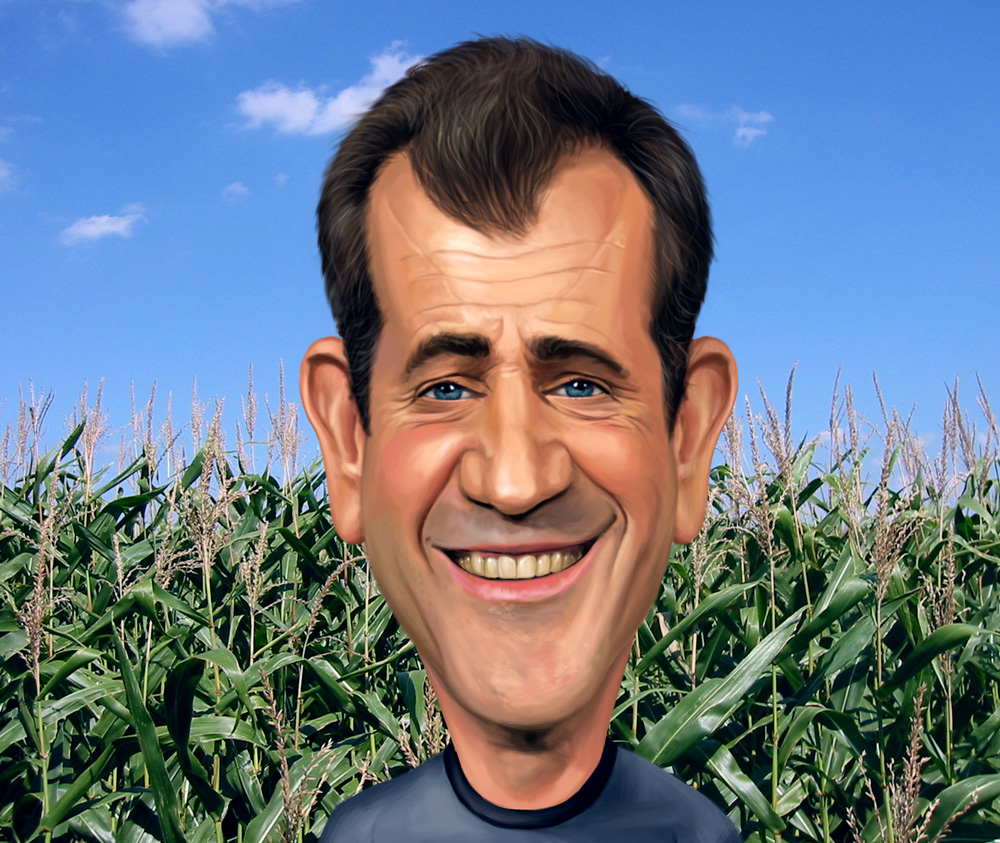 Mel Gibson as Graham Hess