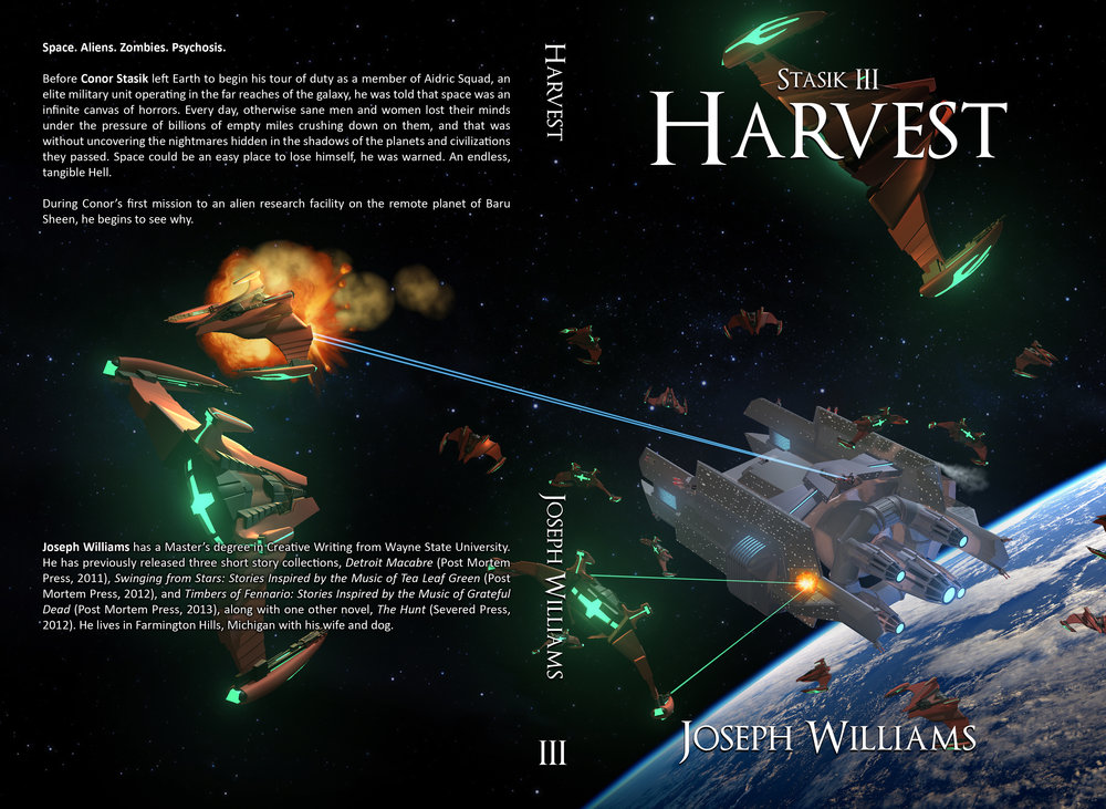 'Stasik III: Harvest' Book Cover
