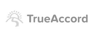 TrueAccord - logo - grayscale