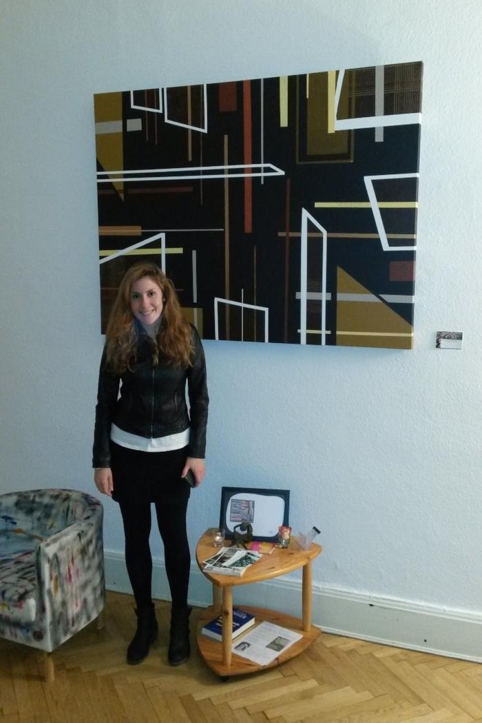 Ausstellung Polygone Kunst von Sarah Katharina Kayß: Juni bis September 2017 in Berlin-Charlottenburg