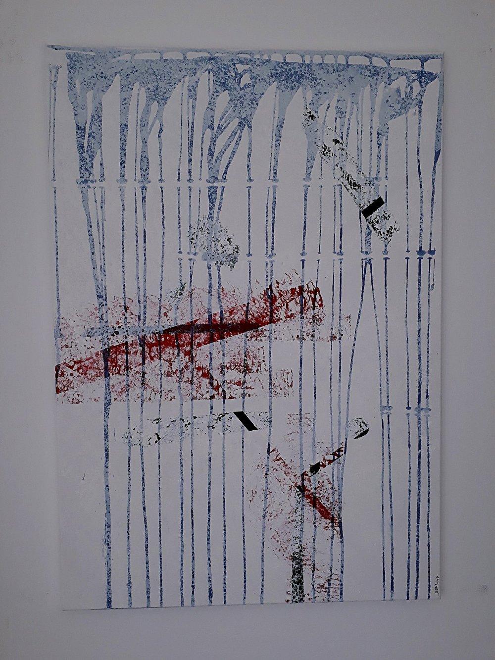 Le Timbre , Sarah Katharina Kayß, 70 x 100 cm