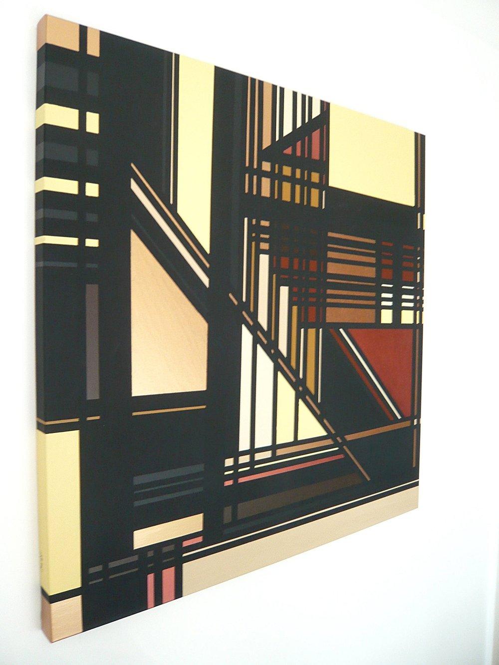 Remarque, Sarah Katharina Kayß,  100 x100 cm