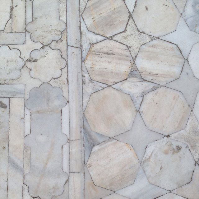 Taj Mahal floor, #bfivestudio