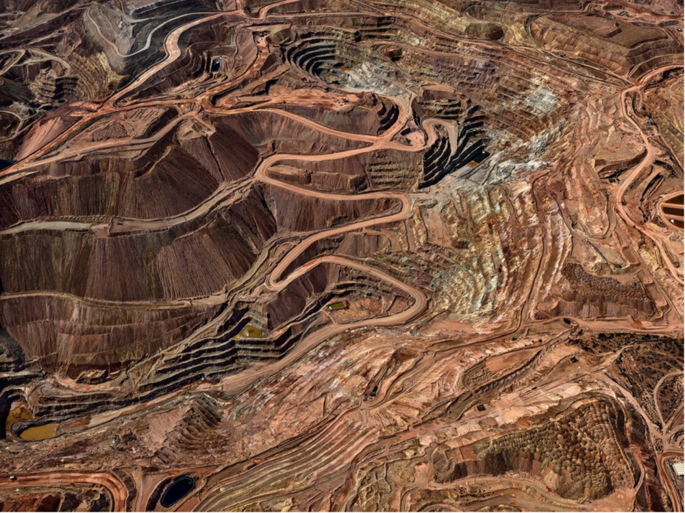 Tyrone Mine, Silver City, N.M. Credit Edward Burtynsky/Howard Greenberg Gallery
