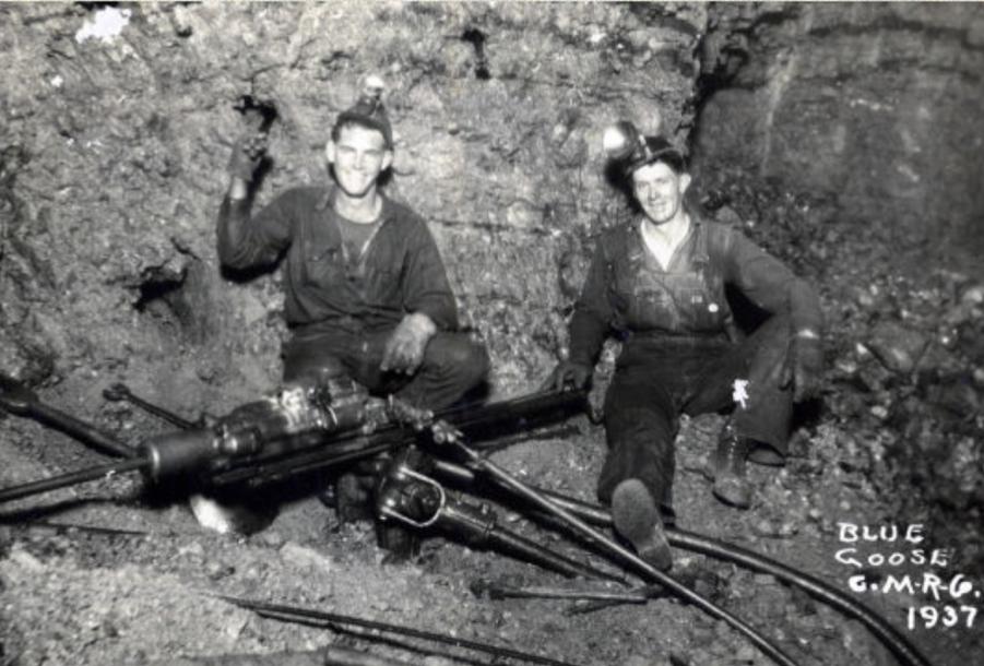 Oklahoma lead-zinc miners, 1937. Credit miningartifacts.org
