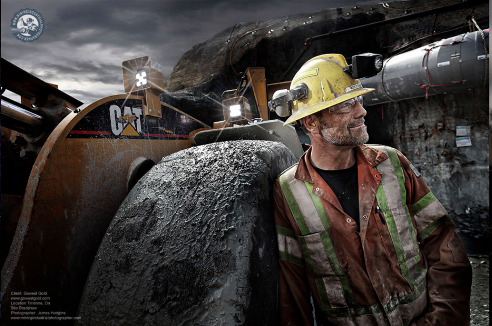 Credit James Hodgins, Mining Industrial Photographer
