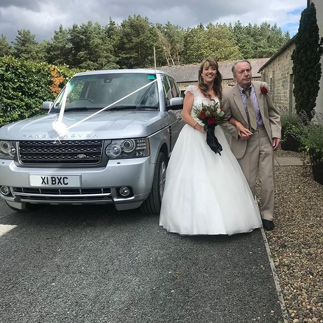 Benchmark Executive Cars providing one of our cars for Lynnsey's  big day