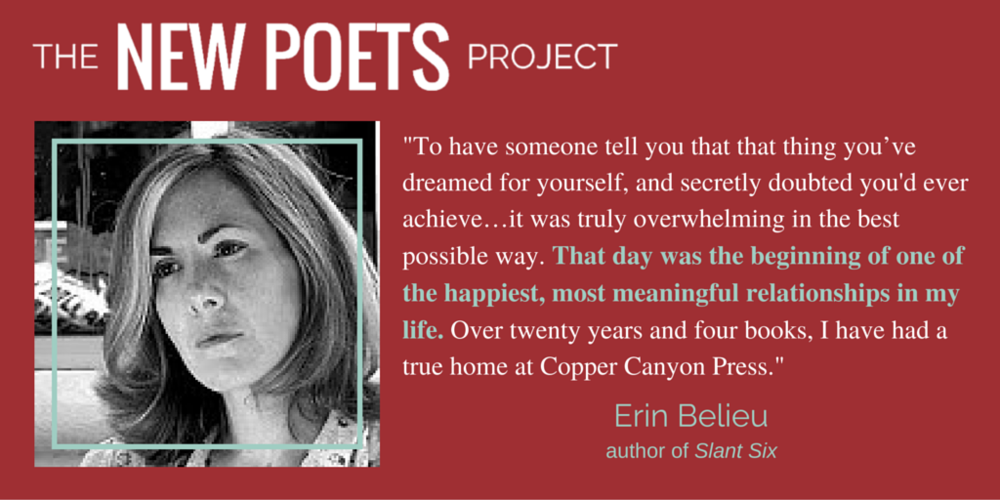 Part of Kickstarter campaign  The New Poets Project  (graphic design by Emily Grise)