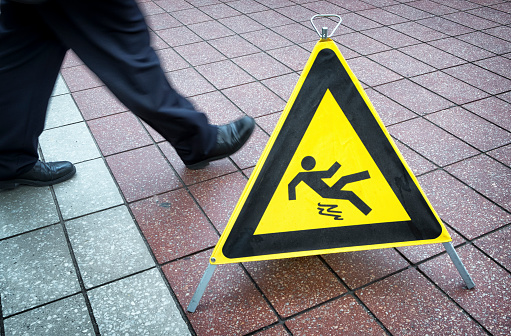 Serious Injury from Slip & Fall Accidents