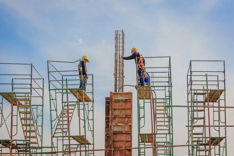 Falls From Height on a Construction Site: Scaffolding and Ladders