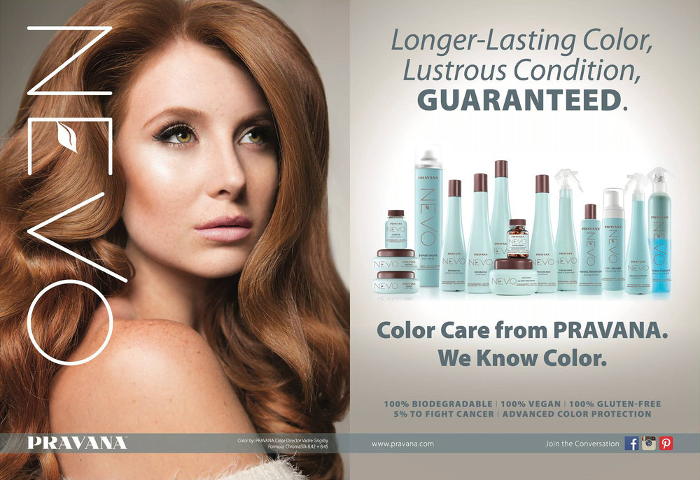Pravana NEVO Ad Campaign