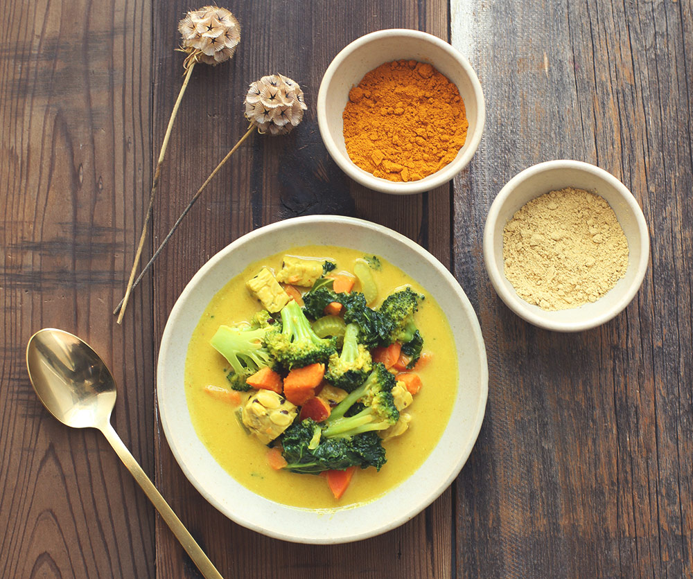 Coconut Curry - Conscious Lifestyle Mag