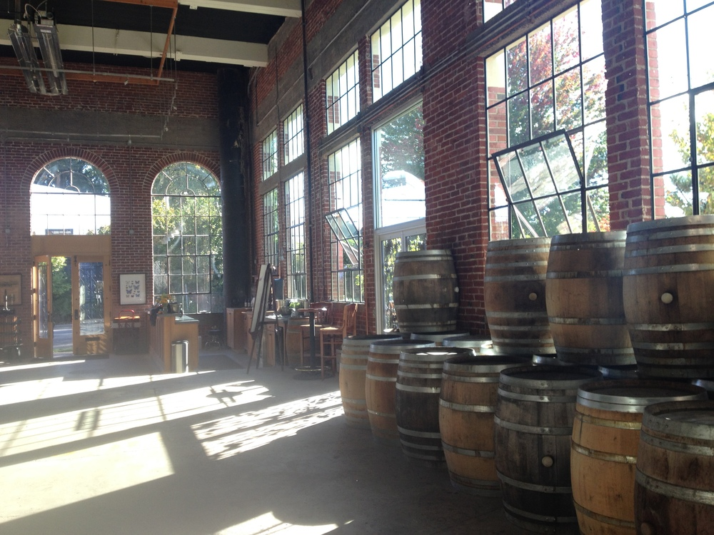 The tasting room at nearby Elizabeth Chambers Cellar, in downtown McMinnville.