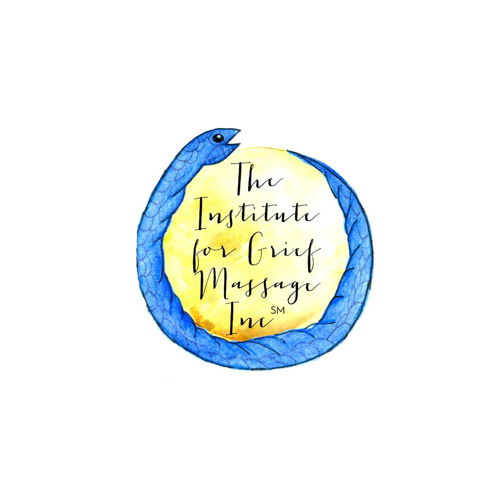 We have a new logo! - Our new design features an ouroboros, an ancient symbol of transformation & wholeness. The ouroboros is a powerful metaphor for this work - especially the inner work we must do to embrace the paradox being both heartbroken and whole.