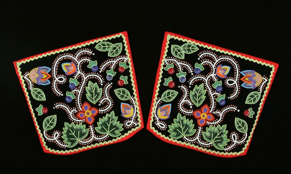 Traditional Anishinaabe / Ojibwe Woodland Leggings, 2007