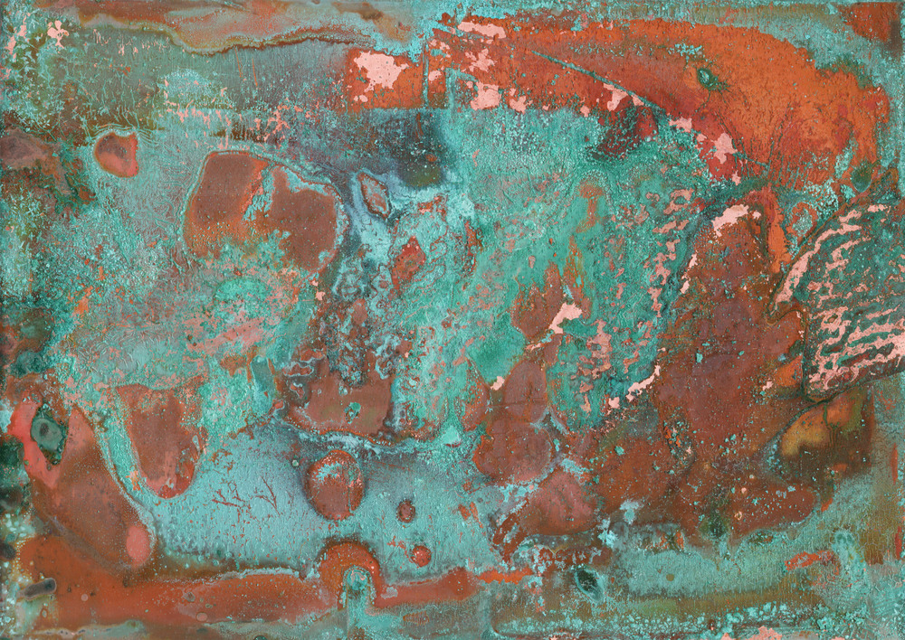 Copper with Patina